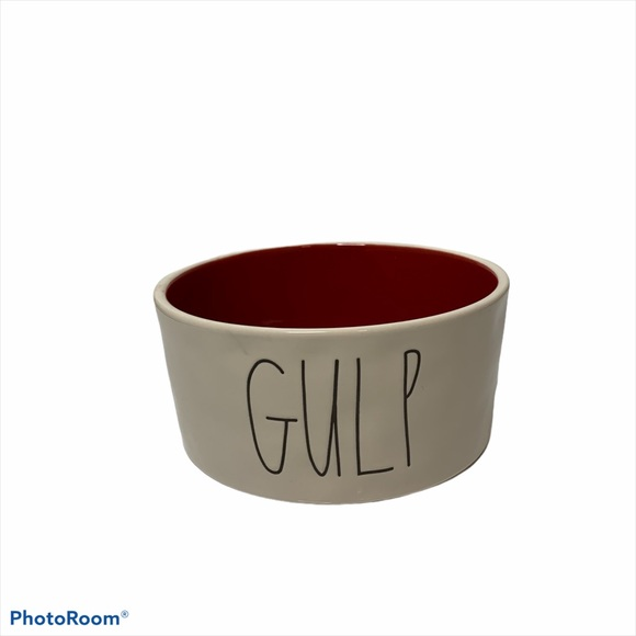 Rae Dunn Gulp Dog Pet Bowl